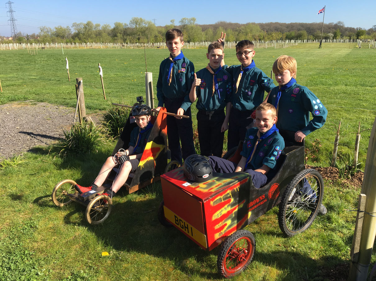 Scouts Karting